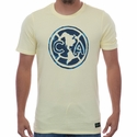 Men's Nike Club America Crest Tee - Lemon Chiffon