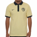 Men's Nike Club America Pique Polo - Lemon Chiffon