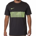 Men's Nike Dry Academy Training Top - Anthracite/Volt