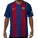 Men's Nike FC Barcelona 2016/2017 Stadium Home Jersey
