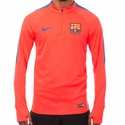 Men's Nike FC Barcelona Drill Squad Top - Bright Crimson