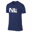 Men's Nike US Youth Soccer National League NC Event Tee - Navy