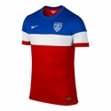 Men's Nike USA 2014/2015 Away Match Jersey
