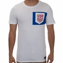 Men's Nike USA 2017 Crest Tee - White