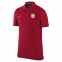 Men's Nike USA Auth GS Slim Polo - University Red