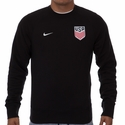 Men's Nike USA AW77 Authentic Crew - Black