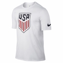 Men's Nike USA Crest Tee - White