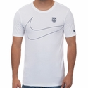 Men's Nike USA Preseason Tee - White