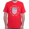 Men's Nike USA Pride Tee - Challenge Red