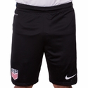 Men's Nike USA Strike Knit Shorts - Black