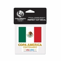 Mexico 2016 Copa America 4x4 Decal