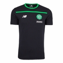 New Balance Celtic FC Training Cotton Tee - Black