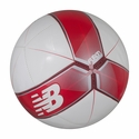 New Balance Dispatch Soccer Ball - White/Scarlet