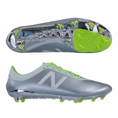 New Balance Furon 2.0 Hydra LE FG Soccer Cleats - Silver Mink - Click to enlarge
