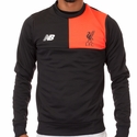 New Balance Liverpool FC Training Sweat Top - Black