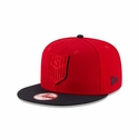 New Era U.S. Soccer 9FIFTY Shadow Slice Snap Back - Red/Blue