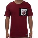 Nike A.S. Roma Crest Tee - Team Red