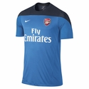 Nike Arsenal Squad SS Training Jersey - Photo Blue