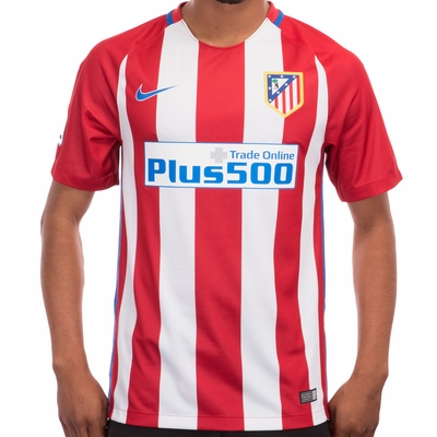 Nike Atletico Madrid 2016/2017 Stadium Home Jersey - Click to enlarge