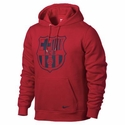 Nike Barcelona Club Core Hoodie - University Red