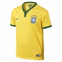 Nike Brazil 2014 Youth Home Jersey