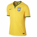Nike Brazil 2014 World Cup Home Match Jersey