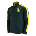Nike Brazil N98 Authentic Track Jacket - Black Spruce