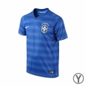 Nike Brazil Youth 2014/2015 Away Stadium Jersey