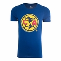 Nike Club America Core Crest Tee - Gym Blue