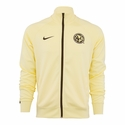 Nike Club America Core Trainer Jacket - Lemon Chiffon