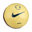 Nike Club America Supporters Soccer Ball - Lemon Chiffon