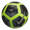 Nike CR7 Prestige Soccer Ball - Black/Volt