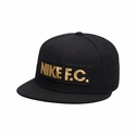 Nike F.C. Block True Cap - Black/Gold