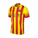 Nike FC Barcelona 2013/2014 Youth Away Jersey
