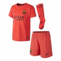 Nike FC Barcelona 2014/2015 Boys Away Kit