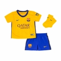 Nike FC Barcelona 2015/2016 Infants Away Kit