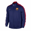Nike FC Barcelona Auth N98 Track Jacket - Loyal Blue