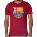 Nike FC Barcelona Core Crest Tee - Storm Red
