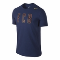 Nike FC Barcelona Core Plus Tee - Loyal Blue