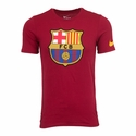 Nike FC Barcelona Crest Tee - Storm Red