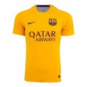 Nike FC Barcelona Flash SS PM Training Top 2 - University Gold