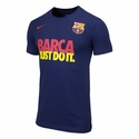 Nike FC Barcelona JDI Tee - Midnight Navy