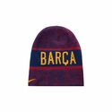 Nike FC Barcelona Reversible Training Beanie - Loyal Blue