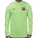 Nike FC Barcelona Shield Strike Drill Top - Ghost Green