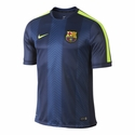 Nike FC Barcelona Squad SS PM Top - Loyal Blue