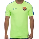 Nike FC Barcelona Squad SS Top - Ghost Green