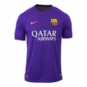 Nike FC Barcelona Squad SS Training Top - Court Purple