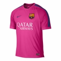 Nike FC Barcelona Squad SS Training Top - Hyper Pink