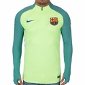 Nike FC Barcelona Strike Drill Top - Ghost Green