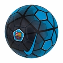 Nike FC Barcelona Supporters Soccer Ball - Current Blue